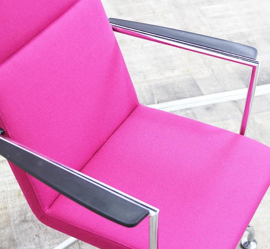 Martela Form 288AR Vergaderstoel | Roze