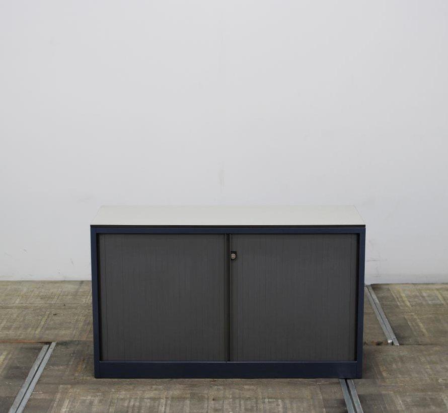 Ahrend Roldeurkast | 70 x 120 x 45 cm - Blauw & Grijs
