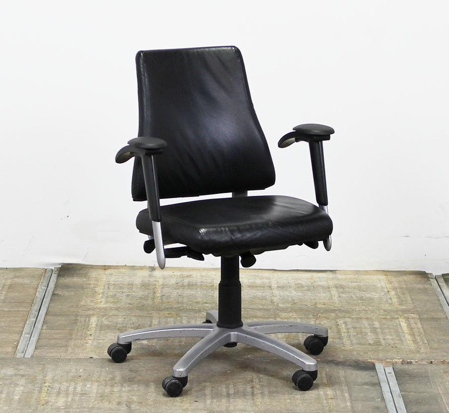 BMA Axia 2.2 Bureaustoel   Hoge Rug - Leder Bekleding