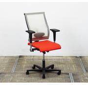 Ahrend Ahrend 250 Bureaustoel | Transparant - Rood