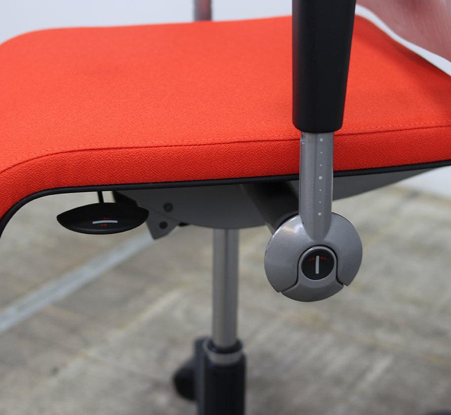 Ahrend 250 Bureaustoel | Transparant - Oranje