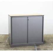 Ahrend Ahrend Roldeurkast Aluminium | 108 x 120 x 45 cm