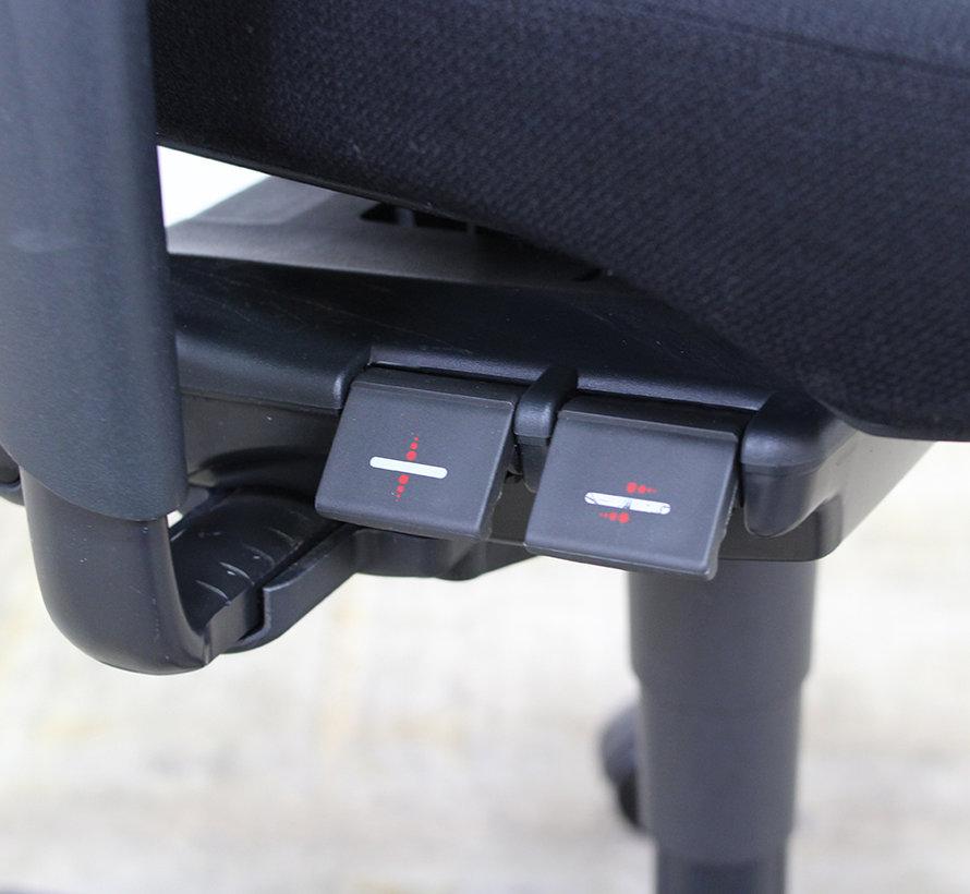 Ahrend 230 Bureaustoel Zwart | Nieuw Gestoffeerd - Hoge Rug