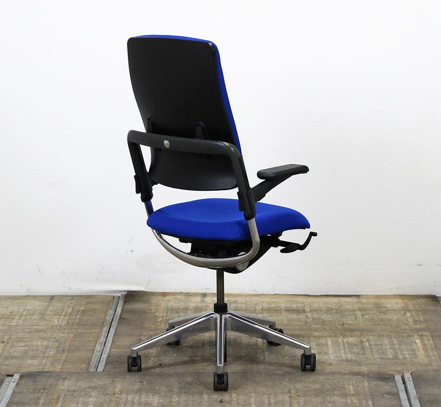 Grahl Xenium Bureaustoel Blauw | Nieuw Gestoffeerd