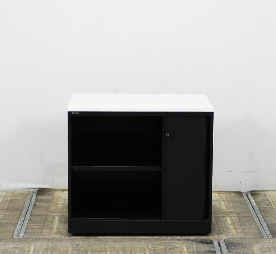 Ahrend Roldeurkast Zwart | 73 x 80 x 50 cm