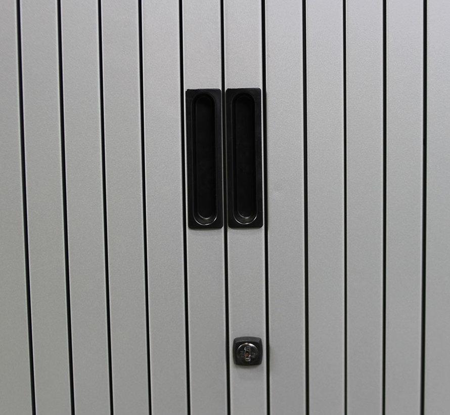 Aspa Roldeurkast Aluminium | 105 x 120 x 47 cm