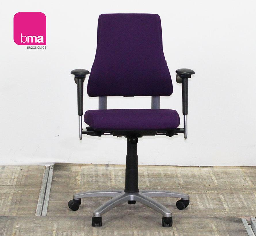 BMA Axia Bureaustoel Paars   Nieuw Gestofferd - Hoge Rug