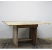 Lamers Kantoormeubelen Steigerhouten Statafel Vierkant | 200 x 200 cm