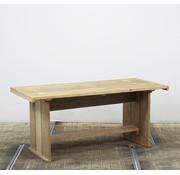 Lamers Kantoormeubelen Steigerhouten Eettafel Tuintafel | 180 x 80 cm