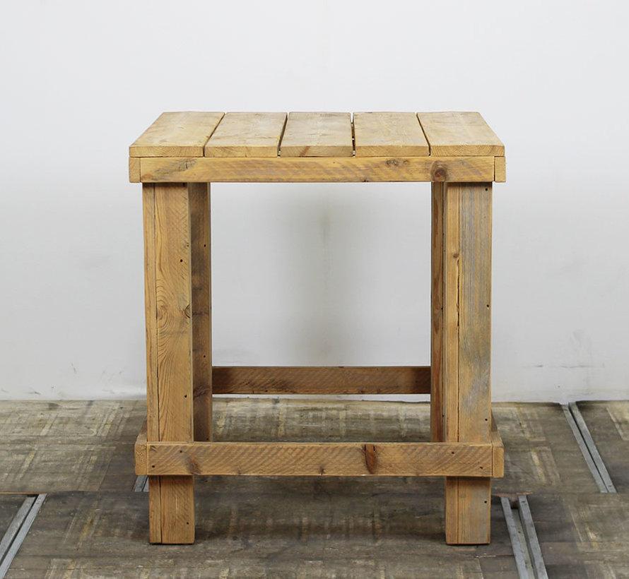 Steigerhouten Statafel Vierkant | 100 x 100 cm