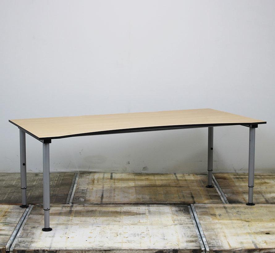 Gispen Next Cockpit Bureau | 200 x 100 cm Beuken Blad