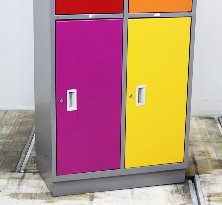 Lockerkast 4 Deuren - Diverse Kleurstellingen