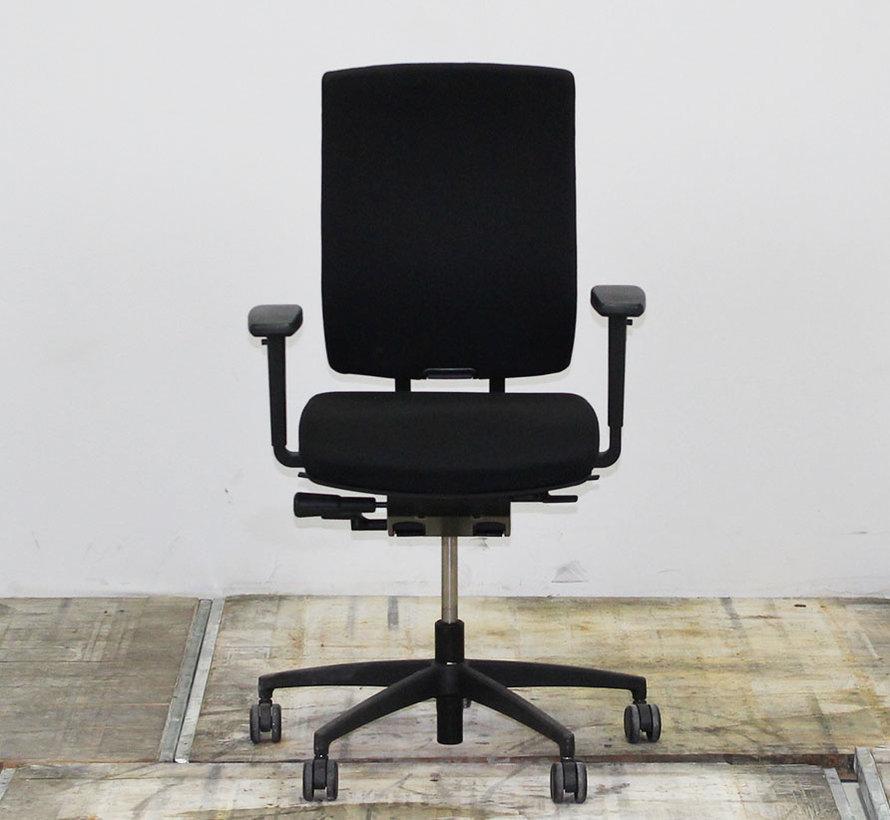 Kembo Sonatec Bureaustoel Zwart