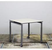 Lamers Verrijdbare Tafel | 80 x 80 cm
