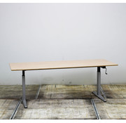 Zwartwoud Zwartwoud Zettoe HV Slingerbureau | 200 x 100 cm