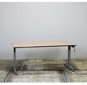 Zwartwoud Zwartwoud Zettoe HV Slingerbureau | 160 x 80 cm