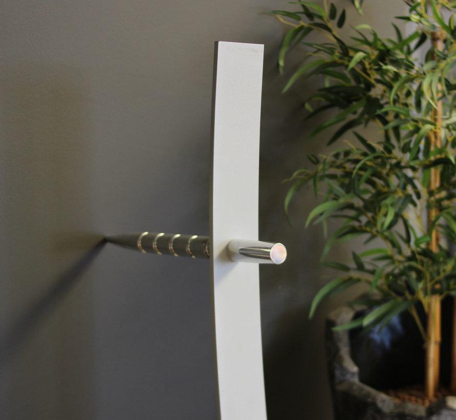 Cascando Standalone Design Kapstok - Gepolijst Aluminium