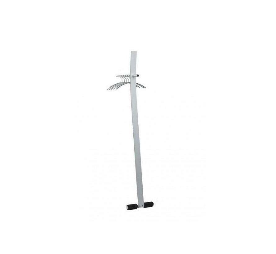 Cascando Design Kapstok - Gepolijst Aluminium