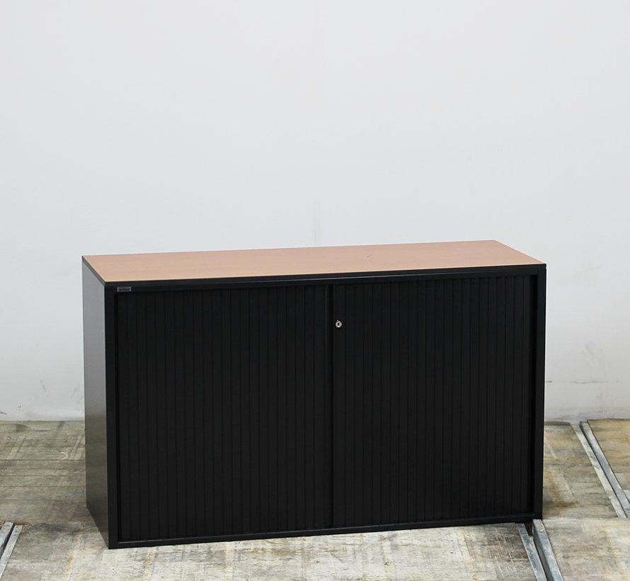 Ahrend Roldeurkast | 72 x 120 x 45 cm - Zwart