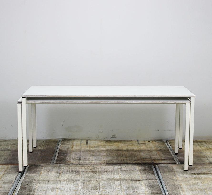 Rohde Stapelbare Kantinetafel Wit | 180 x 80 cm