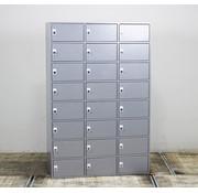 Lamers Lockerkast 24 Vakken | Aluminium