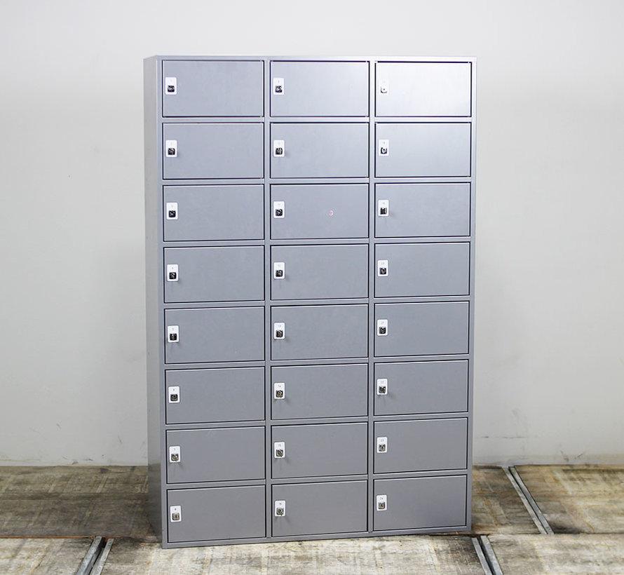 Lockerkast 24 Vakken | Aluminium - 178 x 119 x 45 cm