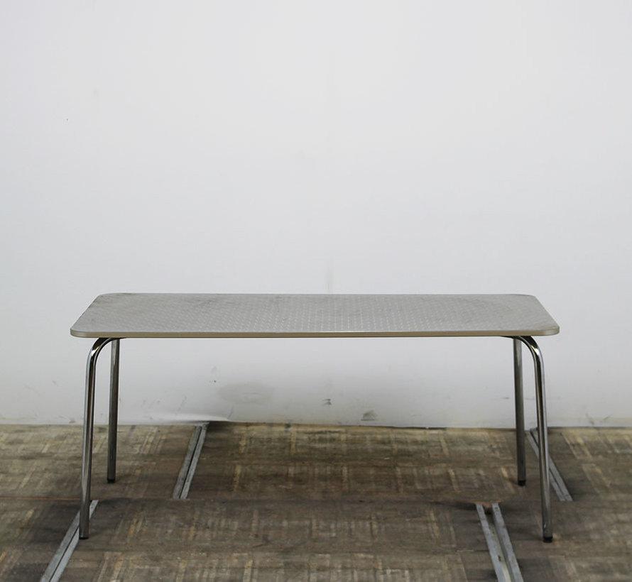 Sedus Aluminium Kantinetafel 160 x 80 cm