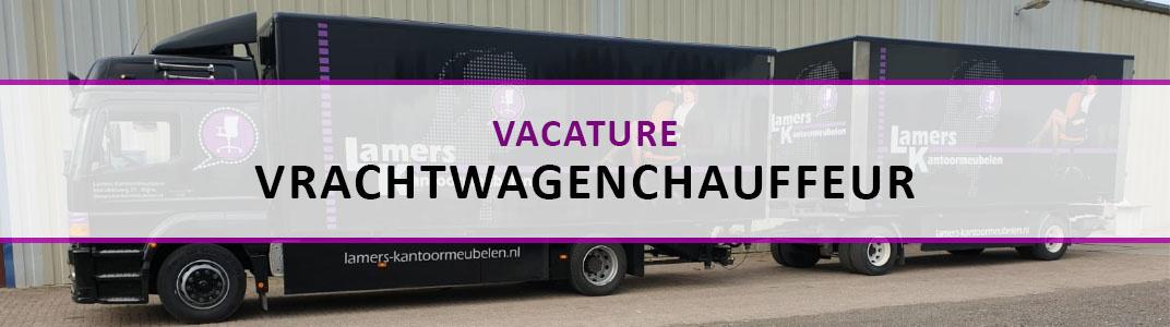 Vacature Chauffeur