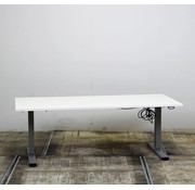 Lamers Elektrisch Zit-Sta Bureau Nieuw Wit Blad | 180 x 80 cm