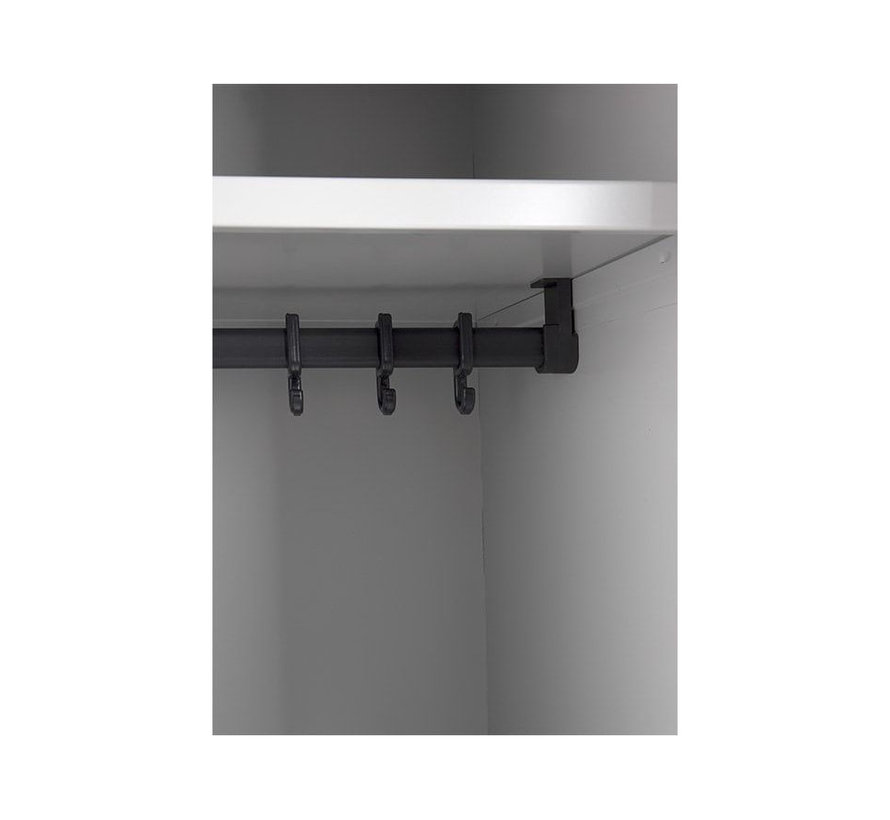 Lockerkast 2 Deurs | 180 x 60 x 50 cm