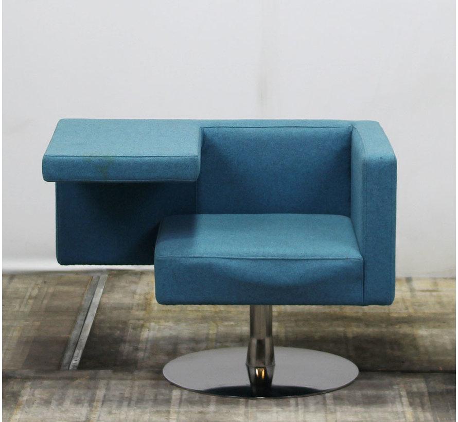 Offecct Solitaire Bezoekersstoel | Blauw
