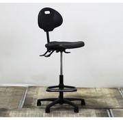 Lamers Kantoormeubelen Werkstoel Hoog  Zwart