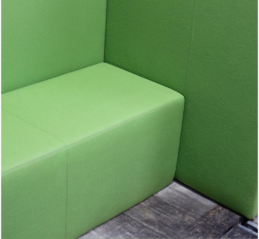 Treinbank Vange 2 Zits | Groen
