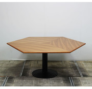 Lamers Vergadertafel 155x155 cm Ruitvormig