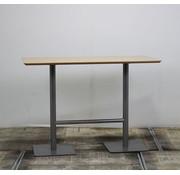 Lamers Statafel Dubbele Poot | 160 x 70 cm