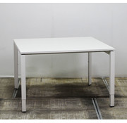 Lamers Kantinetafel Vierkant Wit | 120 x 120 cm