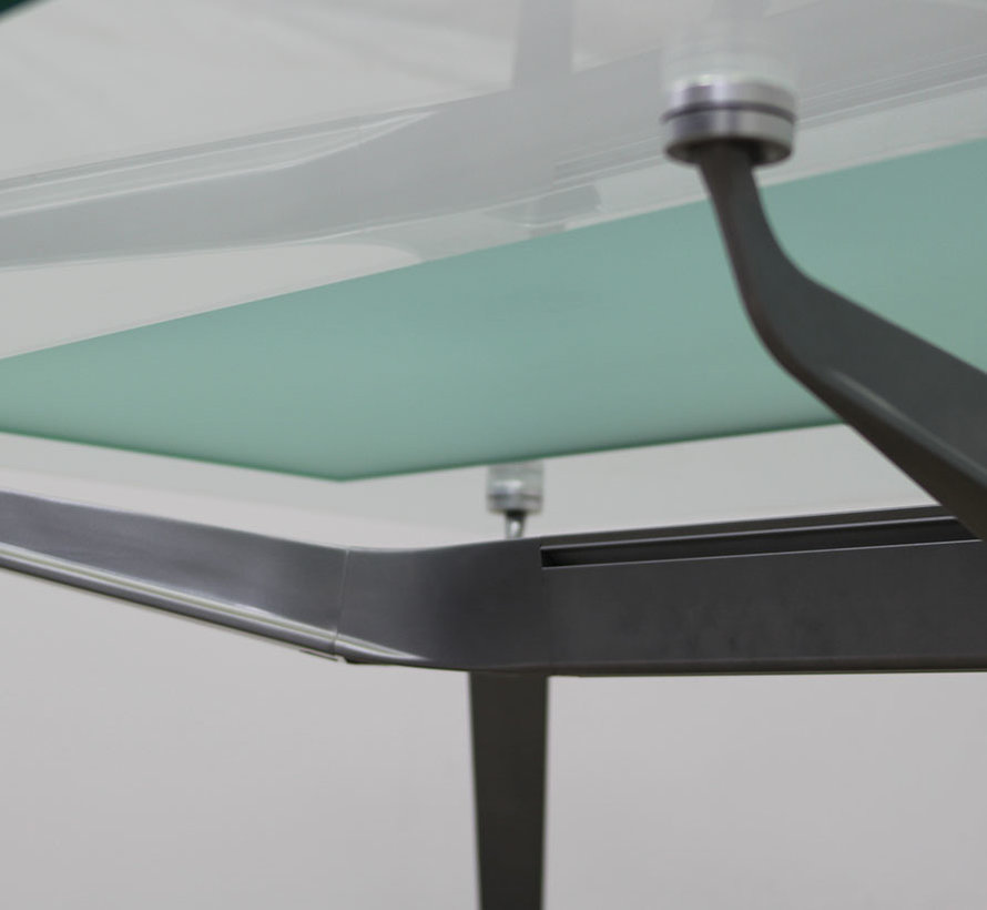Ahrend 1200 Vergadertafel Glas | 240 x 120 cm