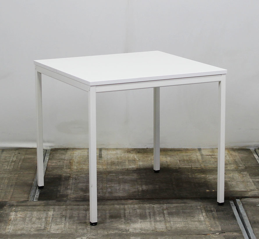 Basic Kantinetafel Wit | 80 x 80 cm