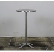 Lamers Statafel Staal | Ø 60 cm