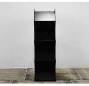 Lourens Fisher Lourens Fisher Folderrek Zwart | 165 x 50 x 34 cm