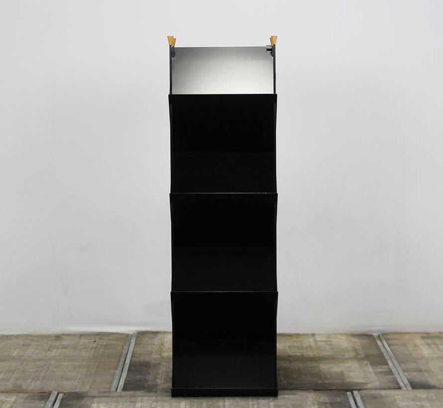 Lourens Fisher Professional 2 Folderrek Zwart | 165 x 50 x 34 cm