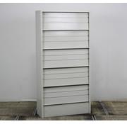 Overtoom Overtoom Folderkast Lichtgrijs | 195 x 97 x 35 cm