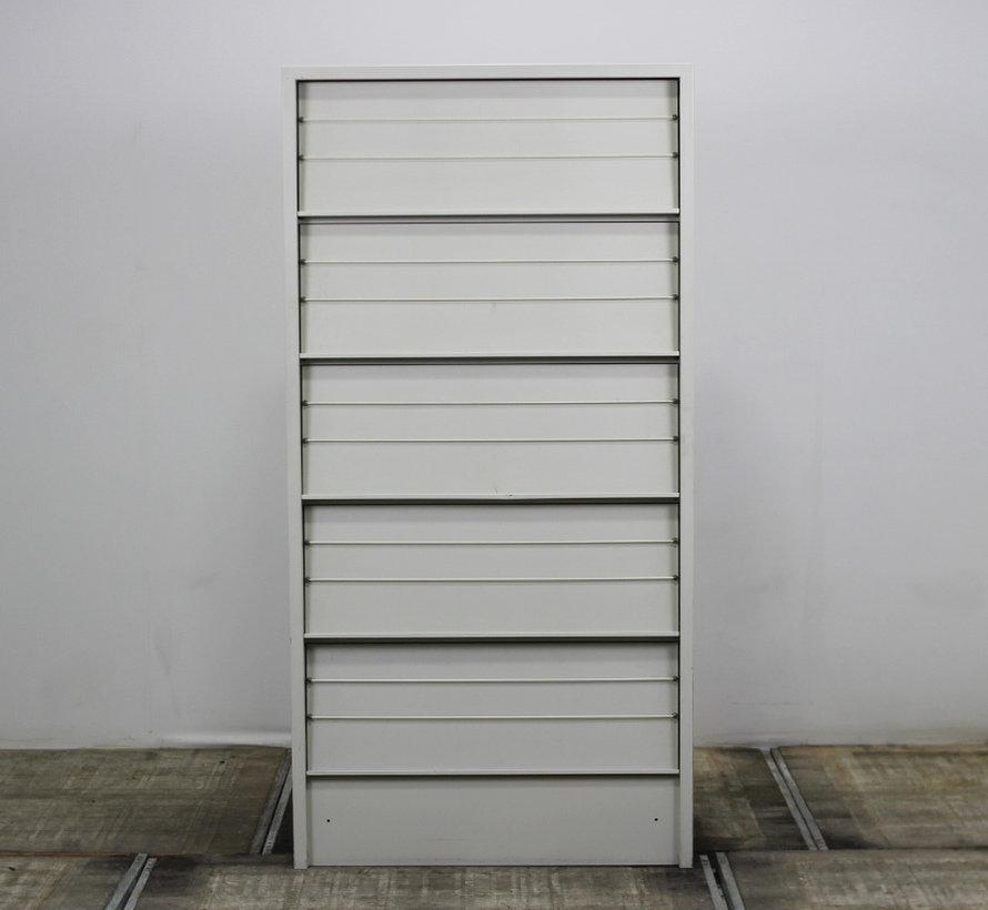 Overtoom Folderkast Lichtgrijs   195 x 97 x 35 cm