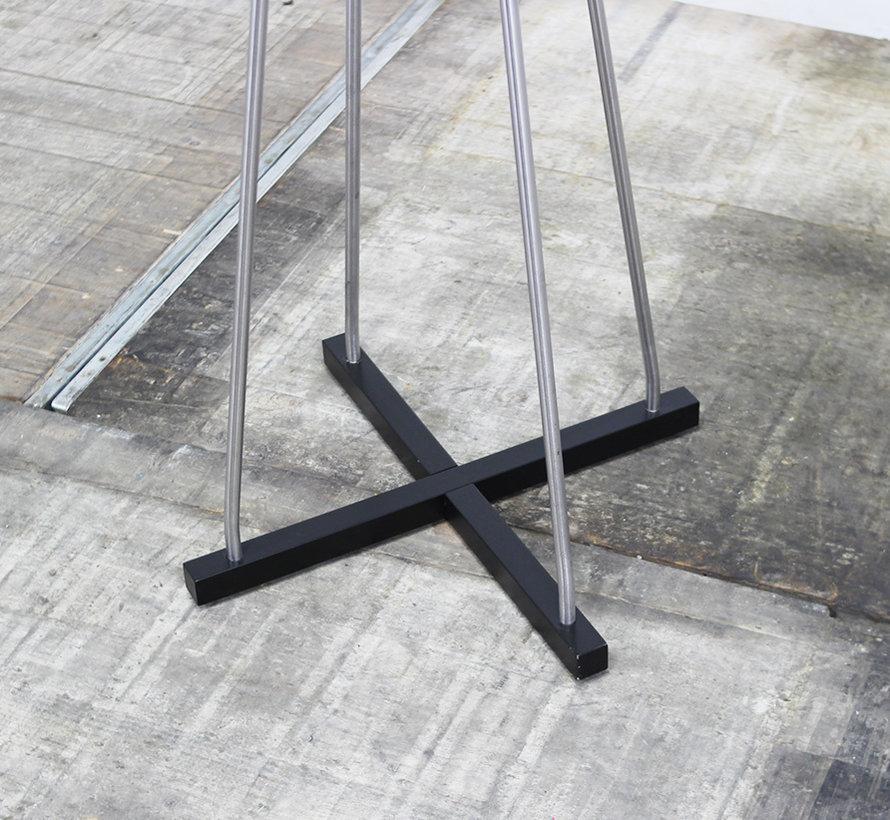 Kapstok Metaal 12 Haken   Antraciet & Aluminium