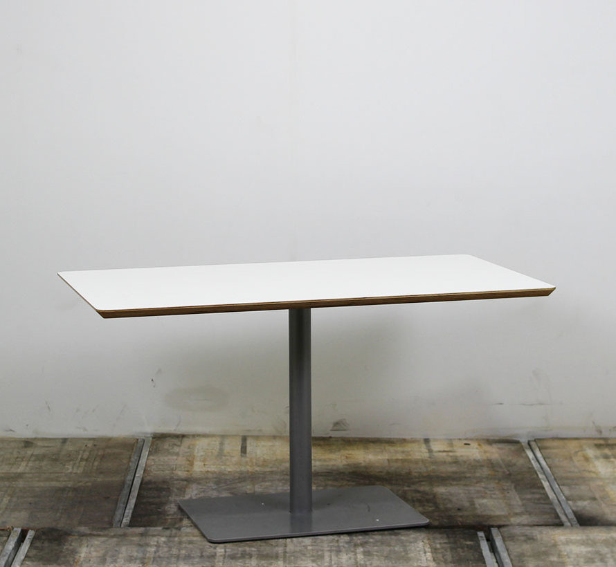 Kusch + Co Kantinetafel Wit 120 x 80 cm