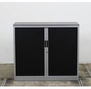 Lamers Roldeurkast Zwart / Grijs | 105 x 120 x 45.5 cm