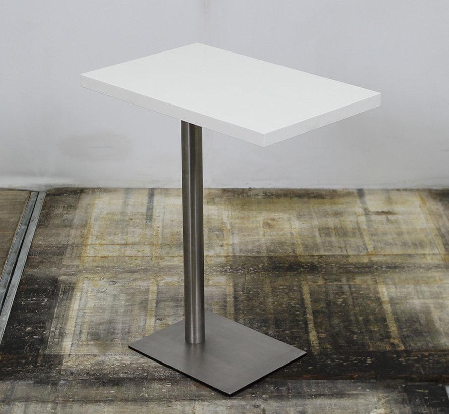 Palau Bijzettafel Wit - Aluminium