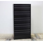 Overtoom Overtoom Folderkast Zwart | 195 x 120 x 45 cm