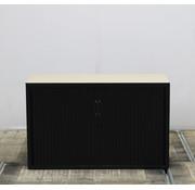 Aspa Aspa Roldeurkast Zwart | 75 x 120 x 47 cm