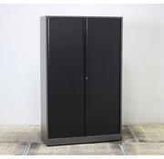 Ahrend Ahrend Roldeurkast Antraciet / Zwart | 195 x 120 x 45 cm